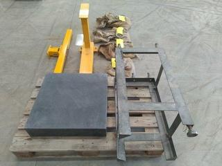 Custom Marble Tooling Bench Workshop Equipment (GP) Photo