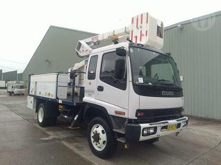 2006 Isuzu FSS550 EWP (Truck Mounted) (NSW) GVM 10,000kg Photo