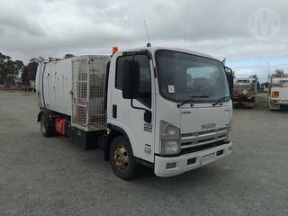 2008 Isuzu NPR 400 Long 616 (WA Ex Council) Garbage Compactor (Side L GCM 11,000kg Photo