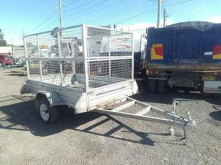 Custom Trailer (Box/Domestic) *Vin plate missing, no vin number* Photo