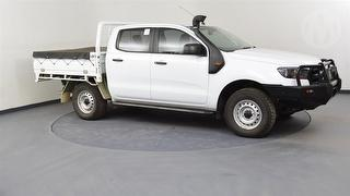 2017 Ford Ranger PX MKII XL 3.2D 4WD 4D Dual Cab Chassis Photo