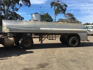 1964 Tieman 7000litre Stainless Steel Tanker (Water) Located IN Koroit/Warrnambool Victoria Photo