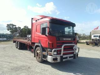 2000 Scania 124l 420 (WA) Tray GCM 70,000kg Photo