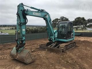 Kobelco SK80MSR-2 Excavator Photo