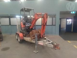 2011 Kubota KX41-3V Excavator Photo