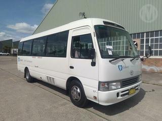 2005 Toyota Coaster Bus GVM 4,990kg Photo