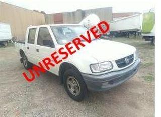 2002 Holden Rodeo R9 LX Utility GVM 2,730kg Photo