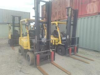 2013 Hyster H2.5TX-EL Forklift (GP) Photo