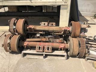 Hendrickson Truck Axles X 3 Photo