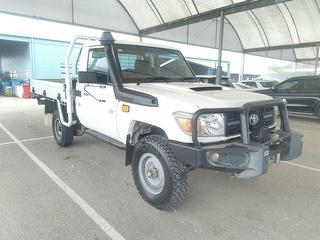 2016 Toyota Landcruiser 76/78/79 Series Workmate 2D Cab Chassis (QFleet) Photo