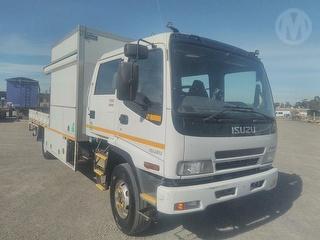 2007 Isuzu FRR 550 Service Truck GVM 10,400kg Photo
