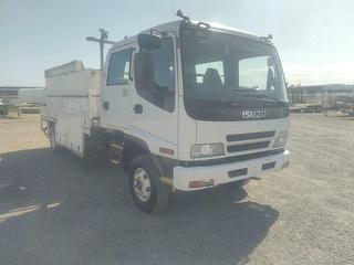 2007 Isuzu FRR 550 Service Truck GCM 16,000kg Photo