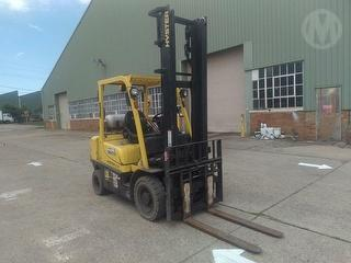 2017 Hyster H2.5XT Forklift (GP) Photo