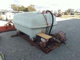 Custom 4500l Skid Mounted Tank And P Tank Photo