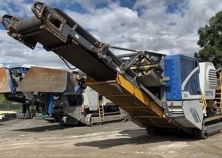 2014 Kleemann MC110R EVO JAW Crusher Conveyor Photo