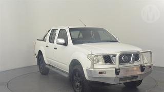 2008 Nissan Navara D40 ST-X 4D Dual Cab Utility Photo