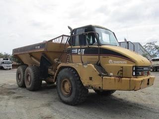 Caterpillar 730 Dump Truck Photo