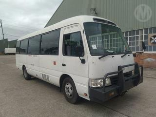 2012 Toyota Coaster Bus GVM 4,990kg Photo