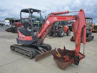 2011 Kubota U25-3 Excavator Photo