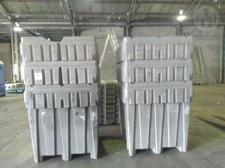 Plastic Tubs 1.2 HX 1.1 W Workshop Equipment (GP) Photo