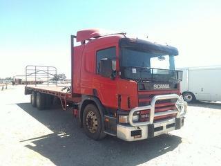 2000 Scania P124 420 (WA) Tray GCM 70,000kg Photo