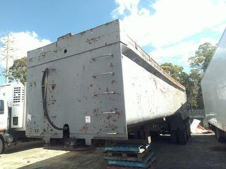 1992 MS Ootrail Tipper Trailer MS Ootrail Tipper Trailer T.o.a Tipping Trailer Photo