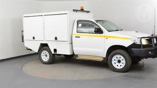 2012 Toyota Hilux 150 SR 2D Cab Chassis Photo