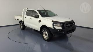 2016 Ford Ranger PX MKII XL HI-RIDER 2.2D RWD 4D Dual Cab Chassis Photo