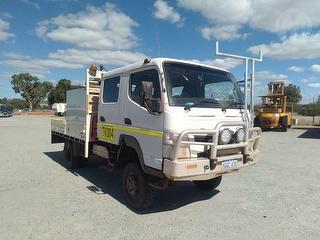 2013 Mitsubishi Canter Service Truck (WA Corporate) GCM 10,000kg Photo