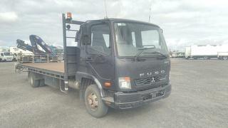 2013 Mitsubishi Fighter 1024 Crane Truck GVM 10,400kg Photo