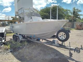 Seajay Freedom 5.95 Boat Decals. Trailer Vin. 6T5RUHLE1CS001530. No Build OR Comp Date ON Boat Trail Photo