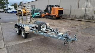 2013 Silver PBL Plant Trailer ATM 2,750kg Photo