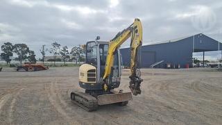 2014 Wacker Neuson EZ28 15VDS Excavator Photo