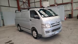 2009 Toyota Hiace 200 LWB 4D Van Photo
