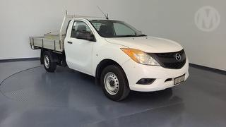 2012 Mazda BT-50 XT 2D Cab Chassis Photo