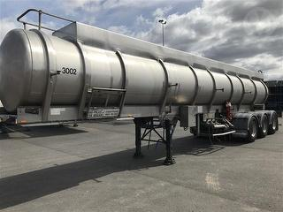 1997 Tieman GTE Stainless Steel Sulfuric Tanker Photo