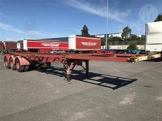 1991 Krueger 40' Trailer Skel Photo