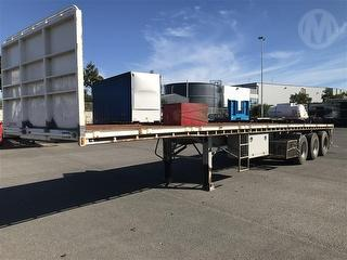 2006 Vawdrey Flat Top Trailer Photo