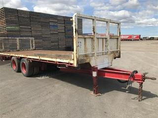 2008 Maxitrans 12 Pallet Flat Top Trailer Photo