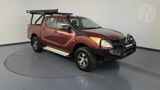 2012 Mazda BT-50 XT 4D Dual Cab Utility Photo