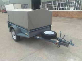 2013 Trailers 2000 Canvas Covered Box Trailer ATM 1,200kg Photo