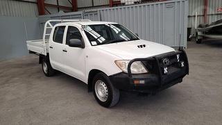 2011 Toyota Hilux 150 SR 4D Dual Cab Utility Photo