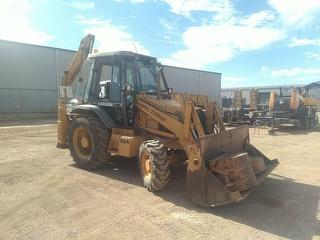 2002 Case 580le Loader (Backhoe) Photo