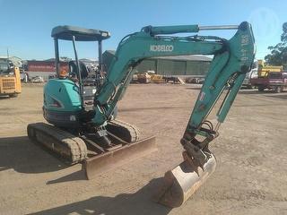 2014 Kobelco SK35SR Excavator & Various Bucke SWL 340kg Photo