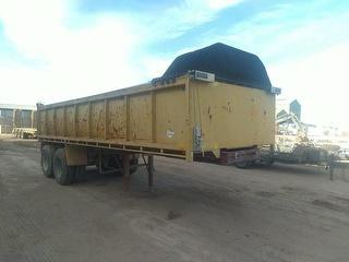 1976 JG Schulz 2 Axle Tipping Trailer ATM 16,500kg Photo