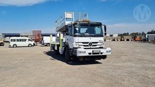 2016 Mercedes Benz Atego 1629 Hi Rail EWP GCM 20,400kg Photo