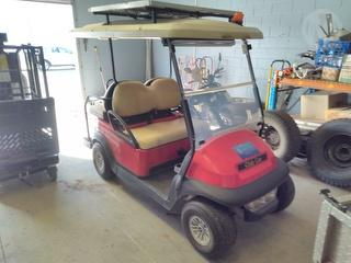 Clubcar Golf Cart Photo