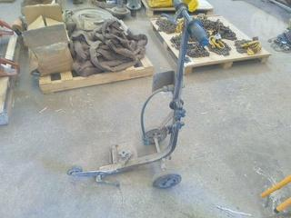 Custom Demolition Saw Trolley Trolley Photo