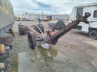 Shed Made Front Steer Axle Boat Trailer Photo