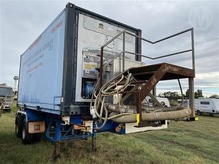 Mitsibishi Transport Refrigeration Unit CPE51-3STWA Mounted on 25ft Skel (wa) Photo